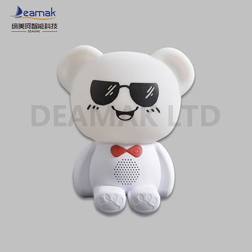 Cute Bear LED kids Silicone Led Night Light 7 Colors Change:Silicone +ABS   DMK-009